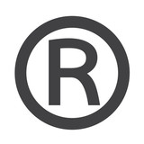 "Registered Trademark icon"" Stock image and royalty-free vector ..."