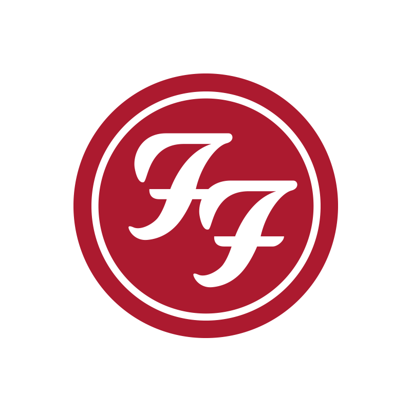 Red Circle Logo Patch – Foo Fighters Store