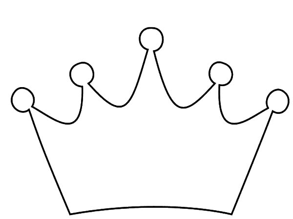coloring pages with crowns - photo#32