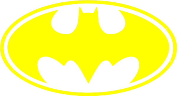 Clipart of batman logo