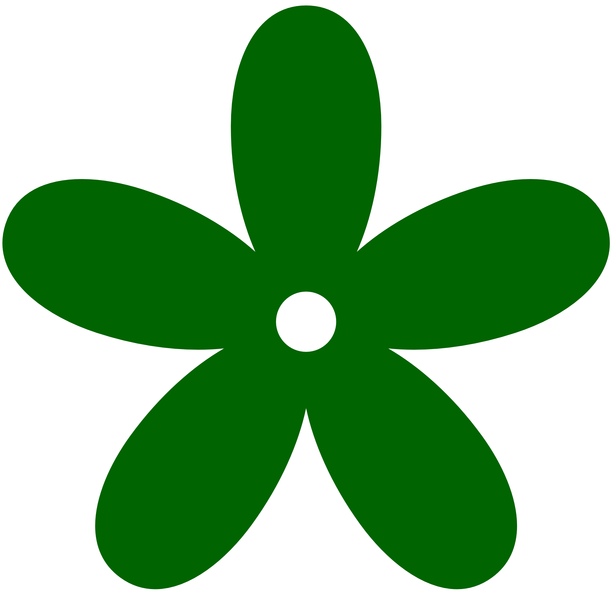 Green Flower Clip Art ClipArt Best