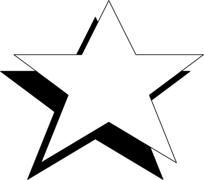 Stars Black And White Clipart - ClipArt Best
