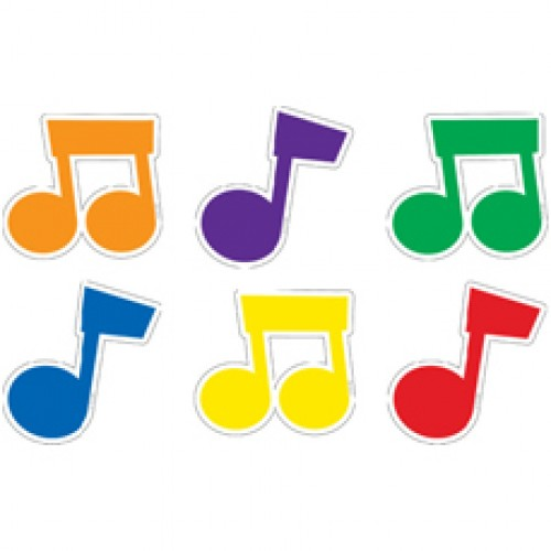 Colourful Music Note - ClipArt Best