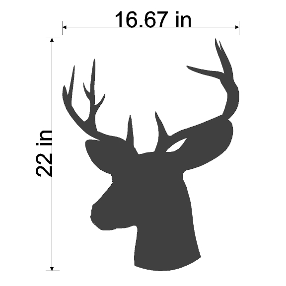 34 deer antler silhouette . Free cliparts that you can download to you ...