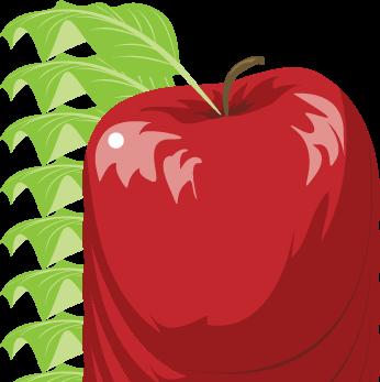 Apple Vector Art Clipart Best
