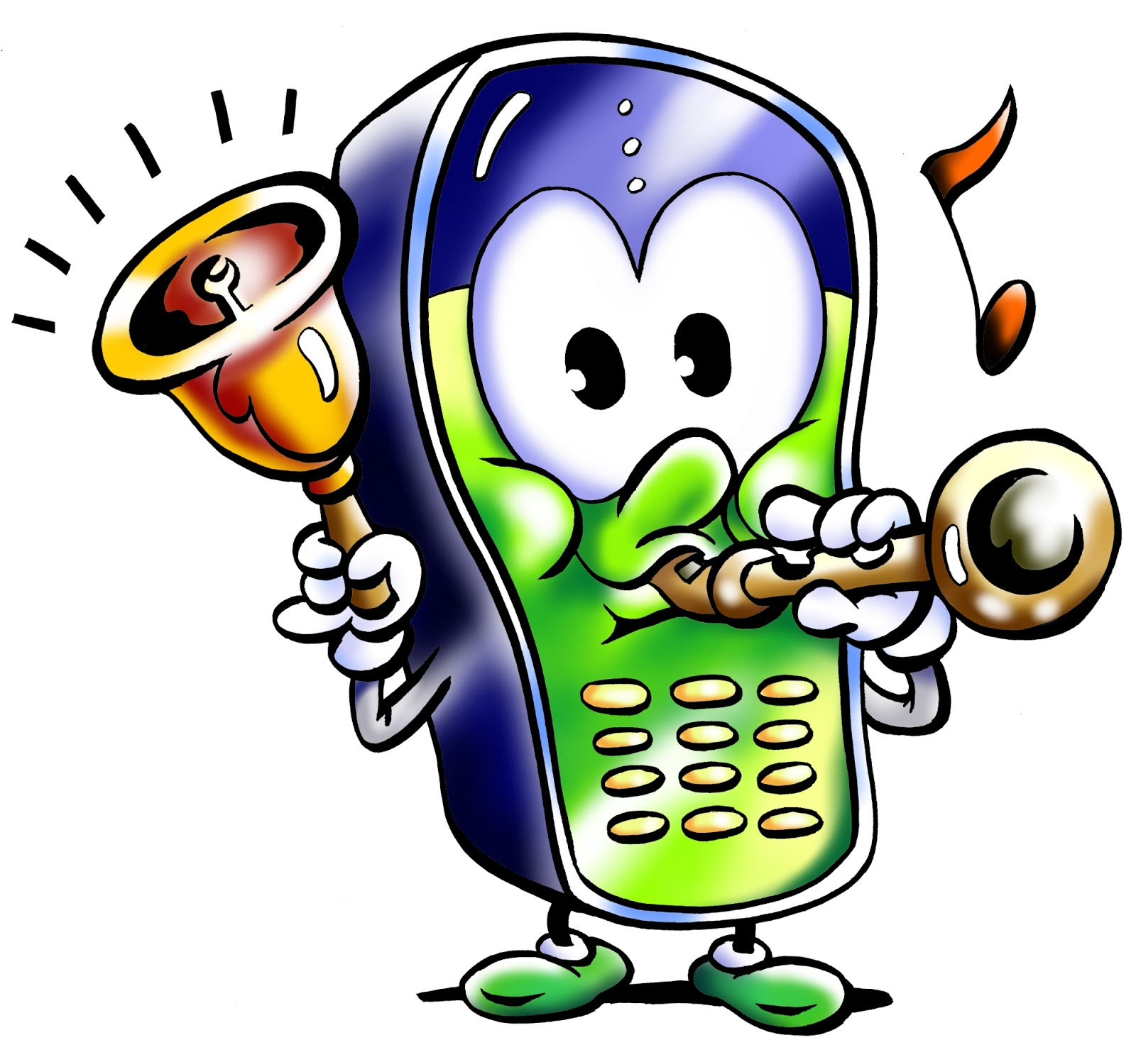 clipart cell phone use - photo #33