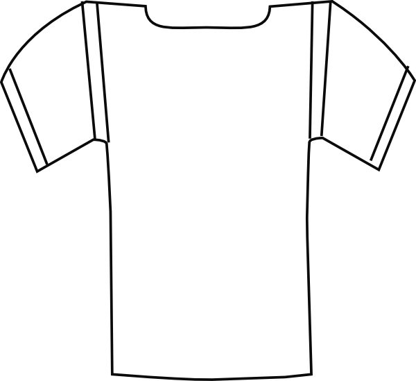 Best Photos of Football Shirt Coloring Page - Plain T-Shirt ...