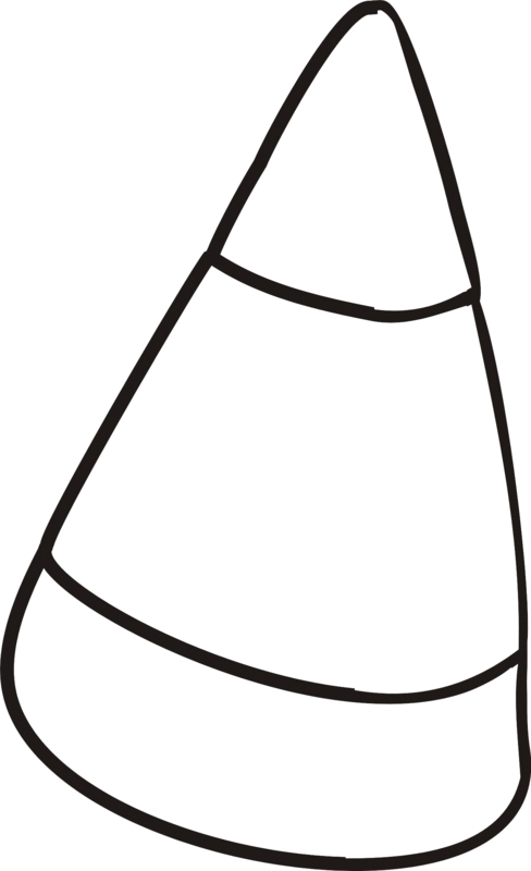 candy corn coloring pages - photo#15