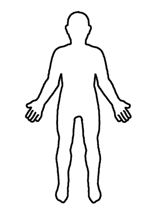 Person Outline - ClipArt Best