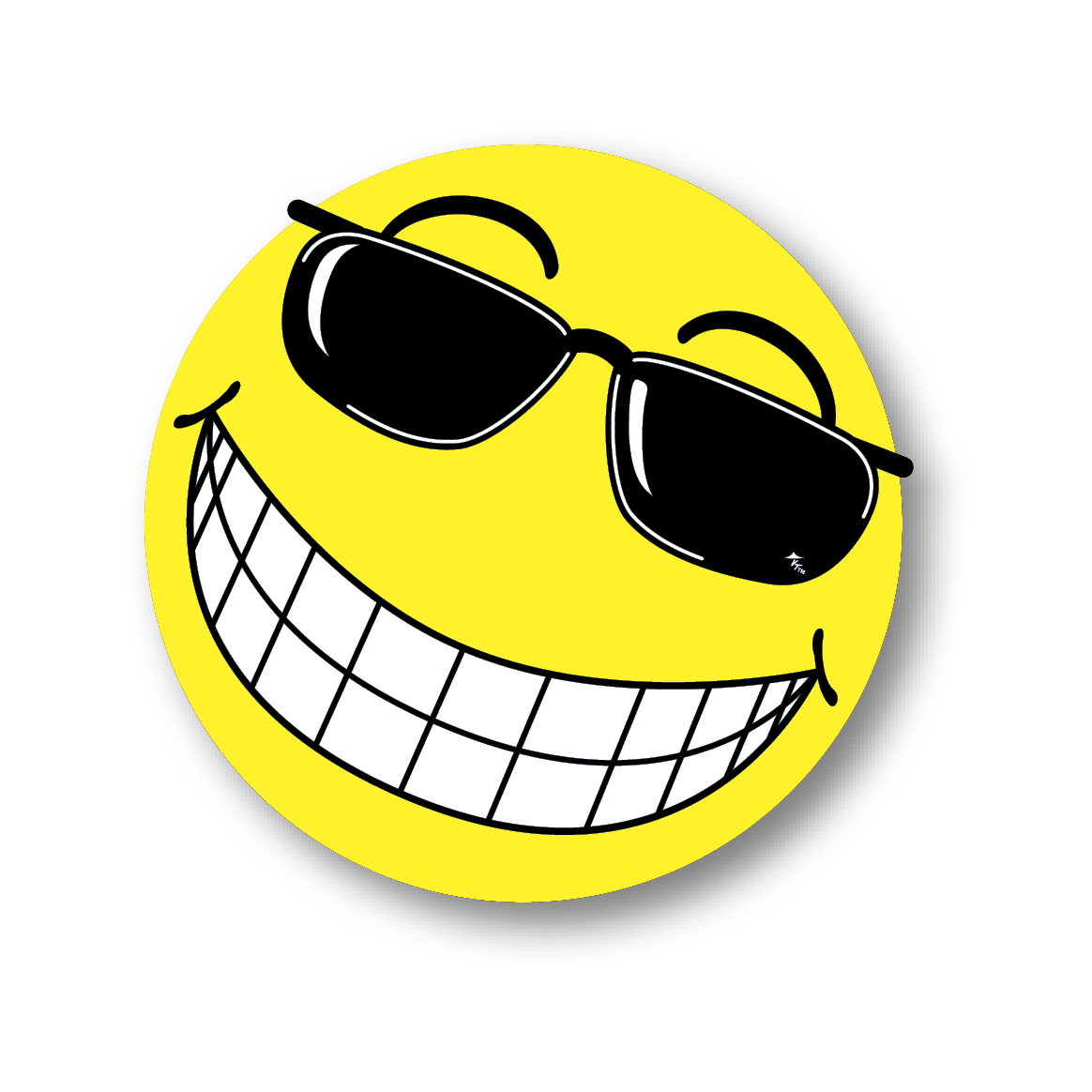 Smiley Face With Sunglasses  happy face with sunglasses clipart best