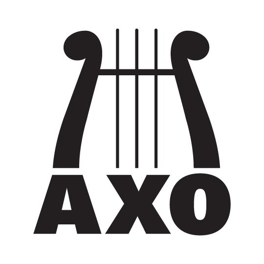 alpha chi omega full lyre decal clipart best clipart best