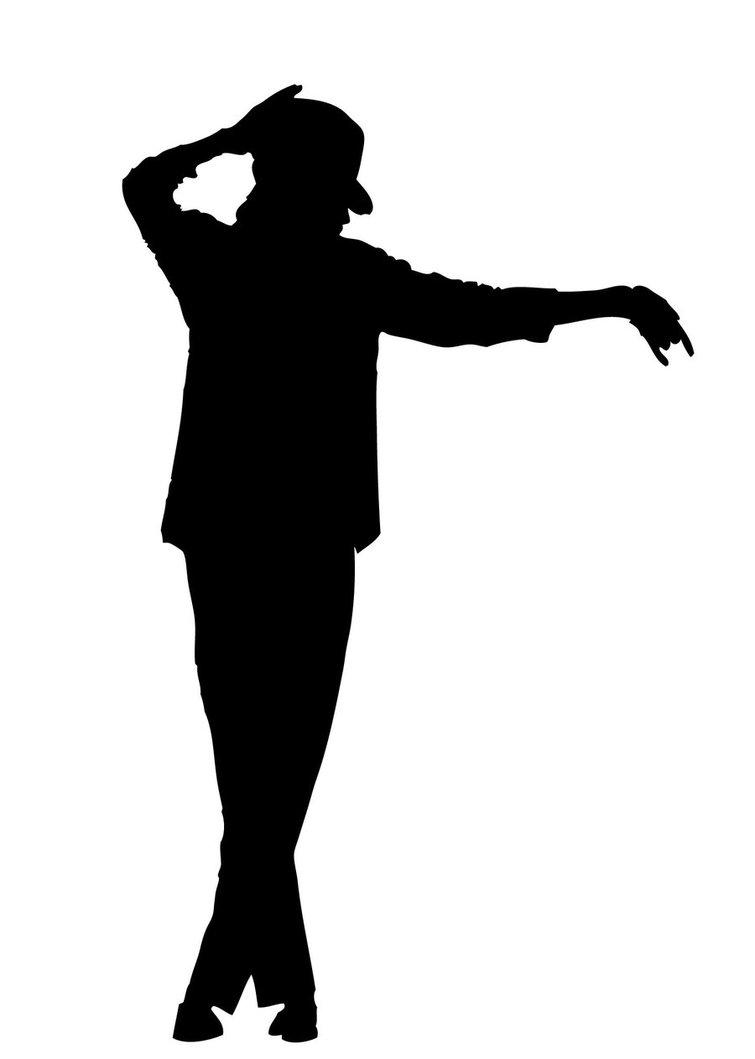 Michael Jackson Silhouette - ClipArt Best