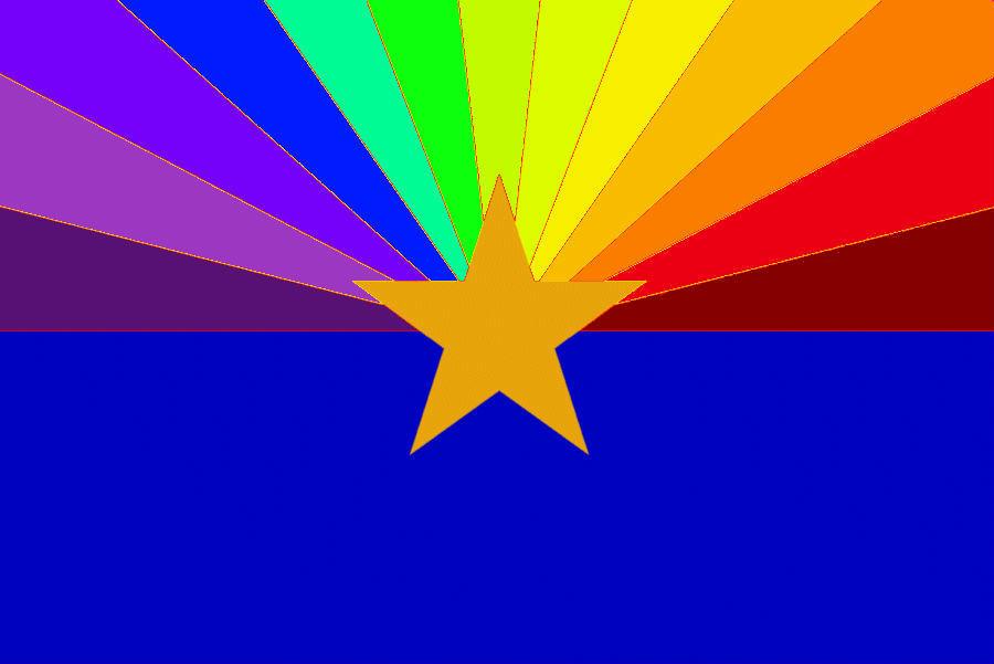 Waving Arizona Flag - Free Transparent PNG Clipart Images Download