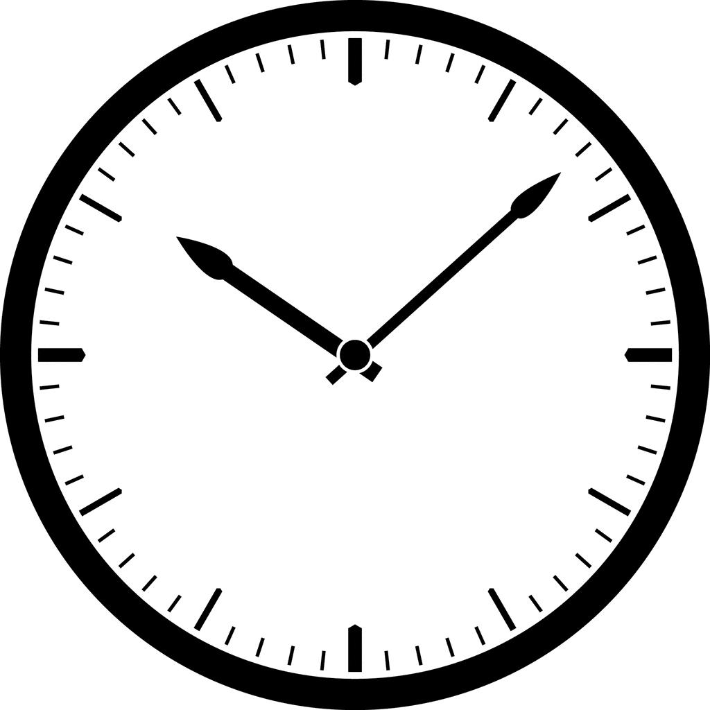 Clock Clip Art Free No Hands