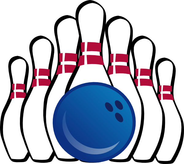 Bowling Clip Art Lanes Blue Balls And ClipArt Best