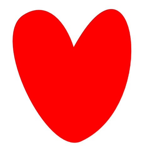 Hand drawn heart png