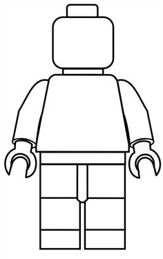 Lego Figure Printable Clipart Best