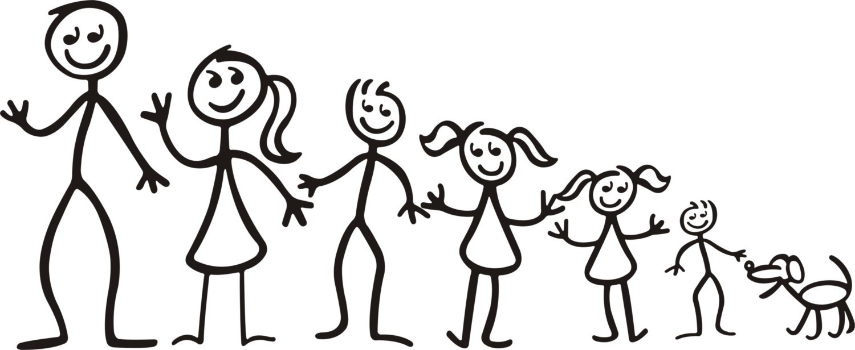 Family Stick Figures - ClipArt Best