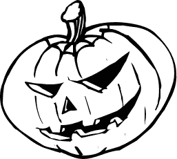 Halloween pictures black and white clipart best - Halloween black and white ...