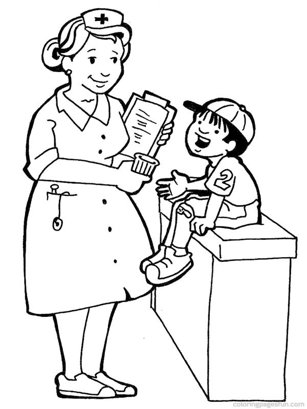 coloring pages of professions - photo#4