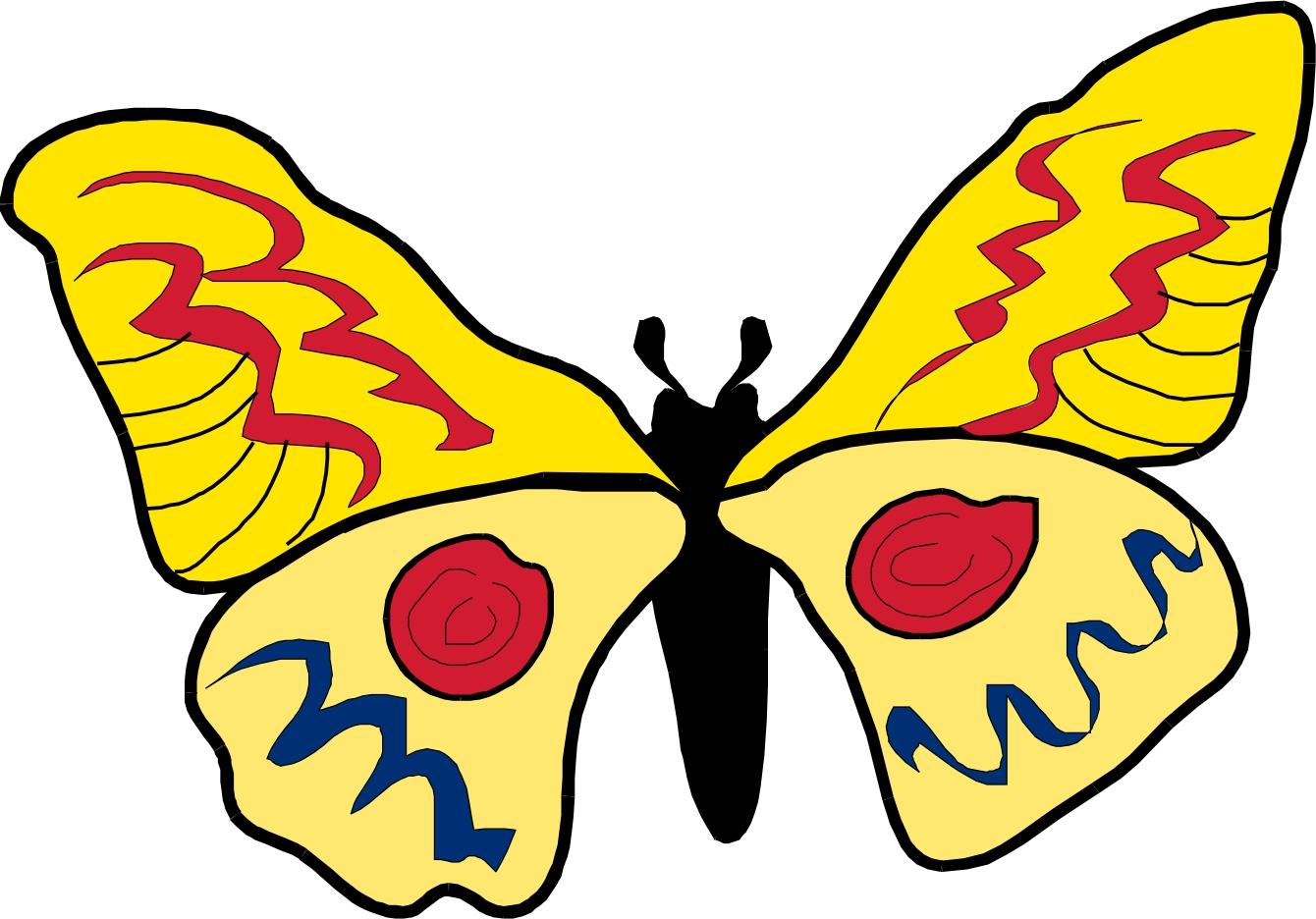 cartoon butterflies images   clipart best