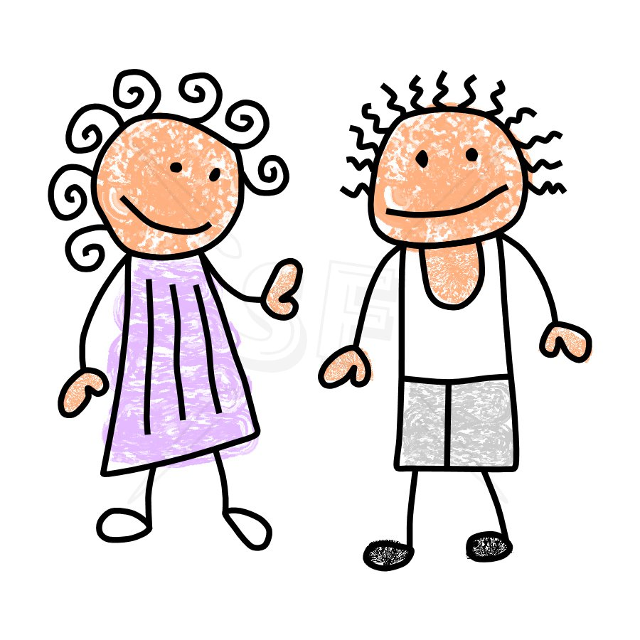 boy and girl clipart free - photo #5