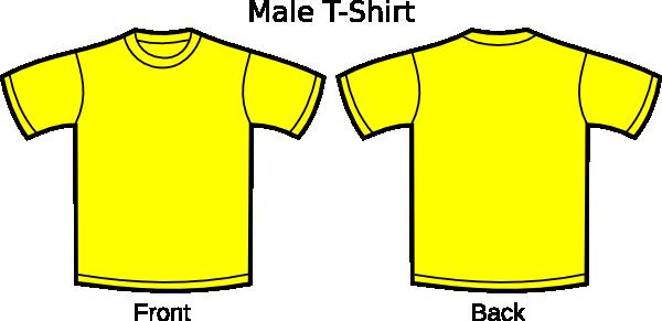 Yellow T Shirt Png Clipart Best