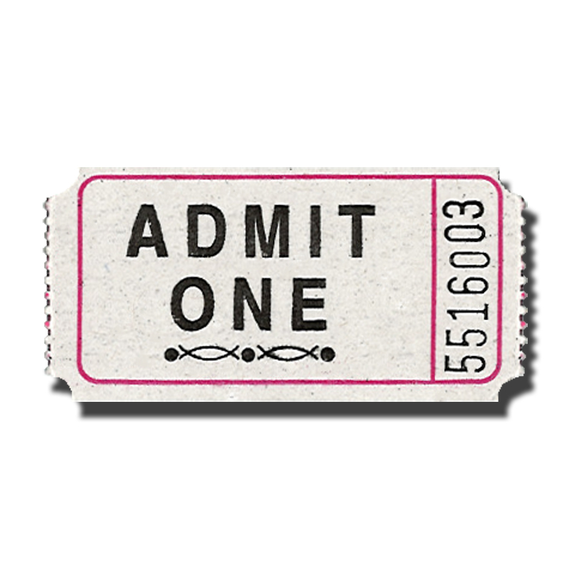 Admit One Ticket Template - ClipArt Best