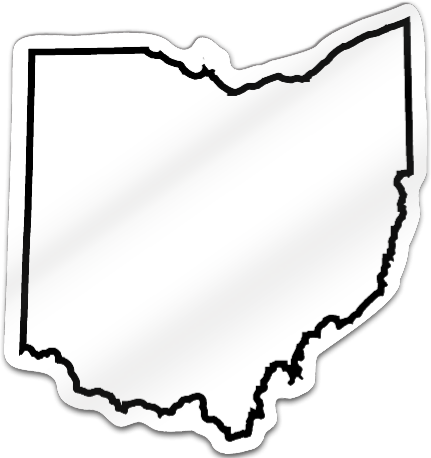 State Of Ohio Outline - ClipArt Best