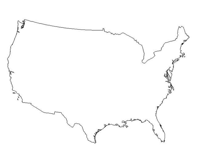 the unites states a detailed outline Classroom resources outline maps united states state maps california's regions midwest us region midwest us region (no labels) new york city.
