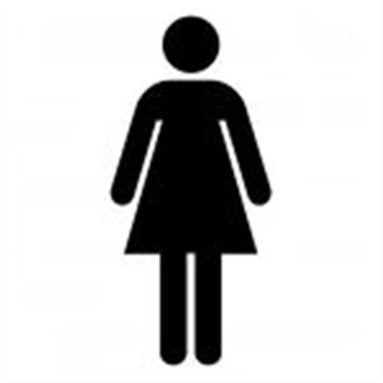 Sign for girle bathroom clipart best for Girls bathroom symbol