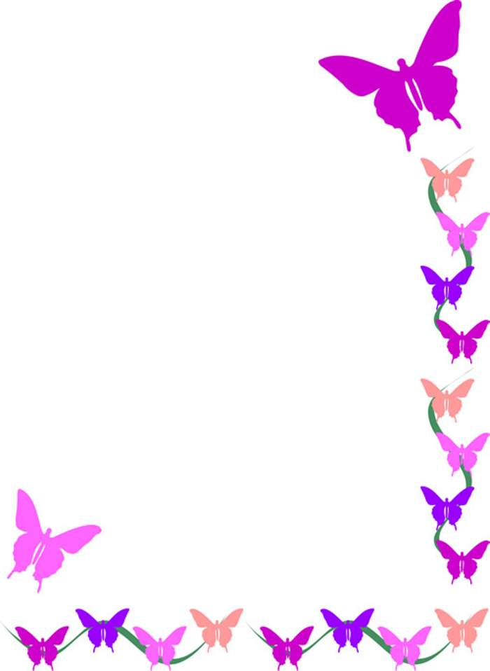 Flower Picture Border - ClipArt Best