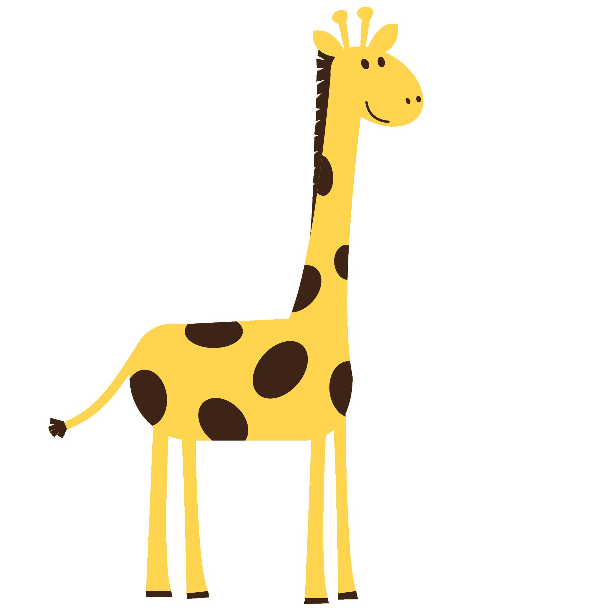 Giraffe head clip art