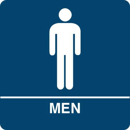 Men S Bathroom Sign ClipArt Best