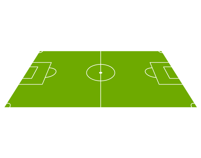 Football Pitch Template - ClipArt Best