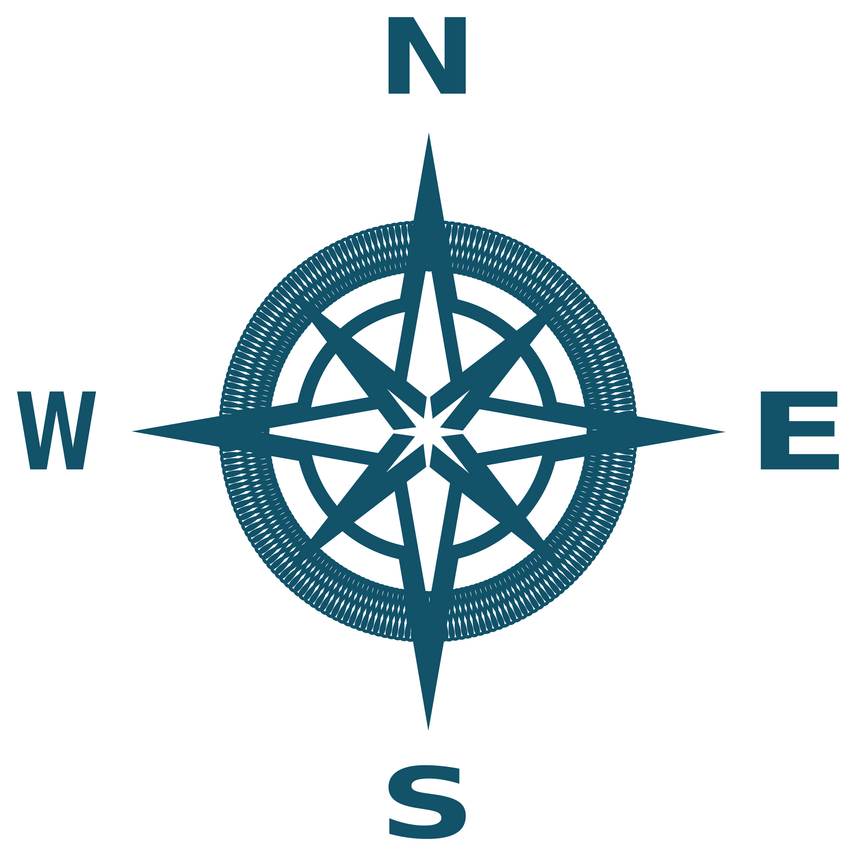 Clipart compass north