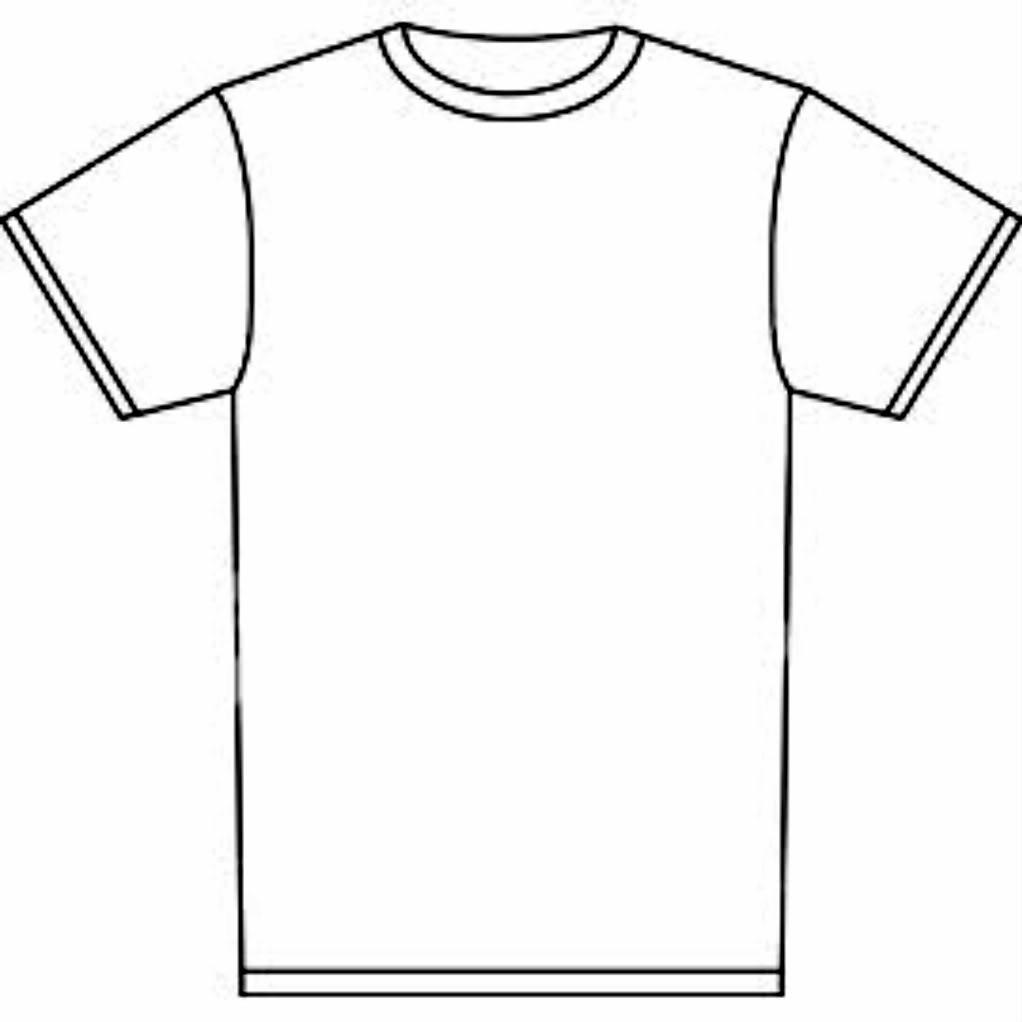 Blank Tshirt - ClipArt Best