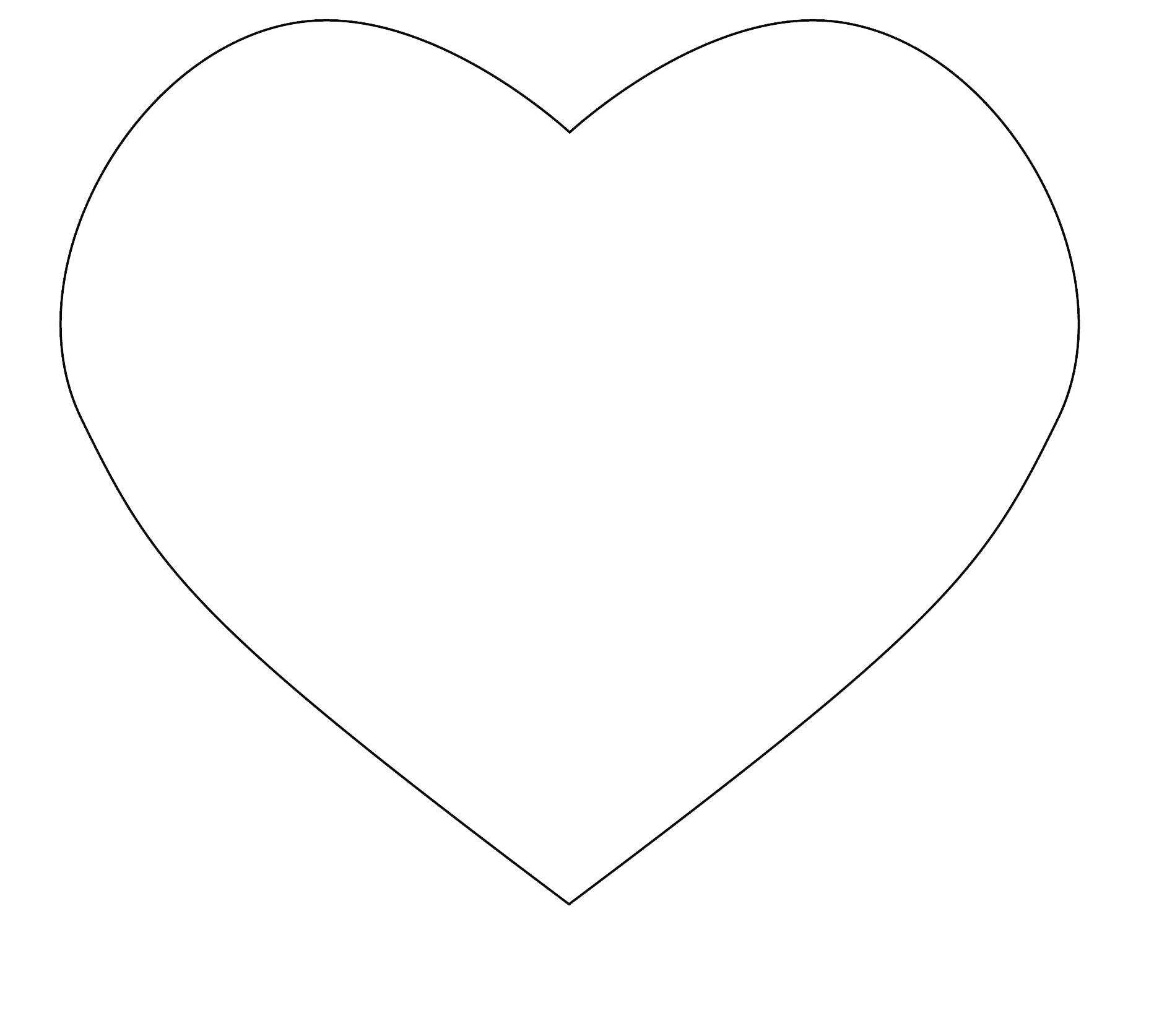 33 heart template cut out . Free cliparts that you can download to you ...