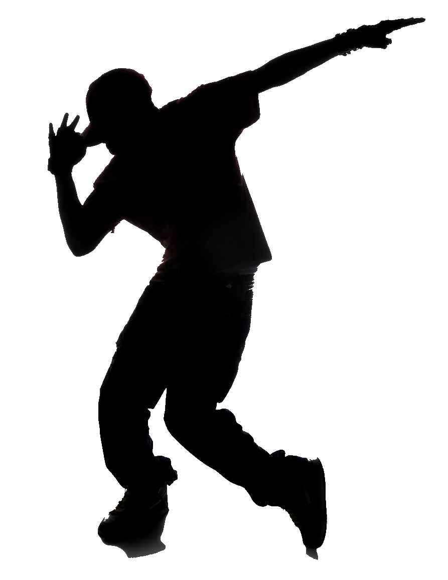 Break Dance Silhouette - ClipArt Best