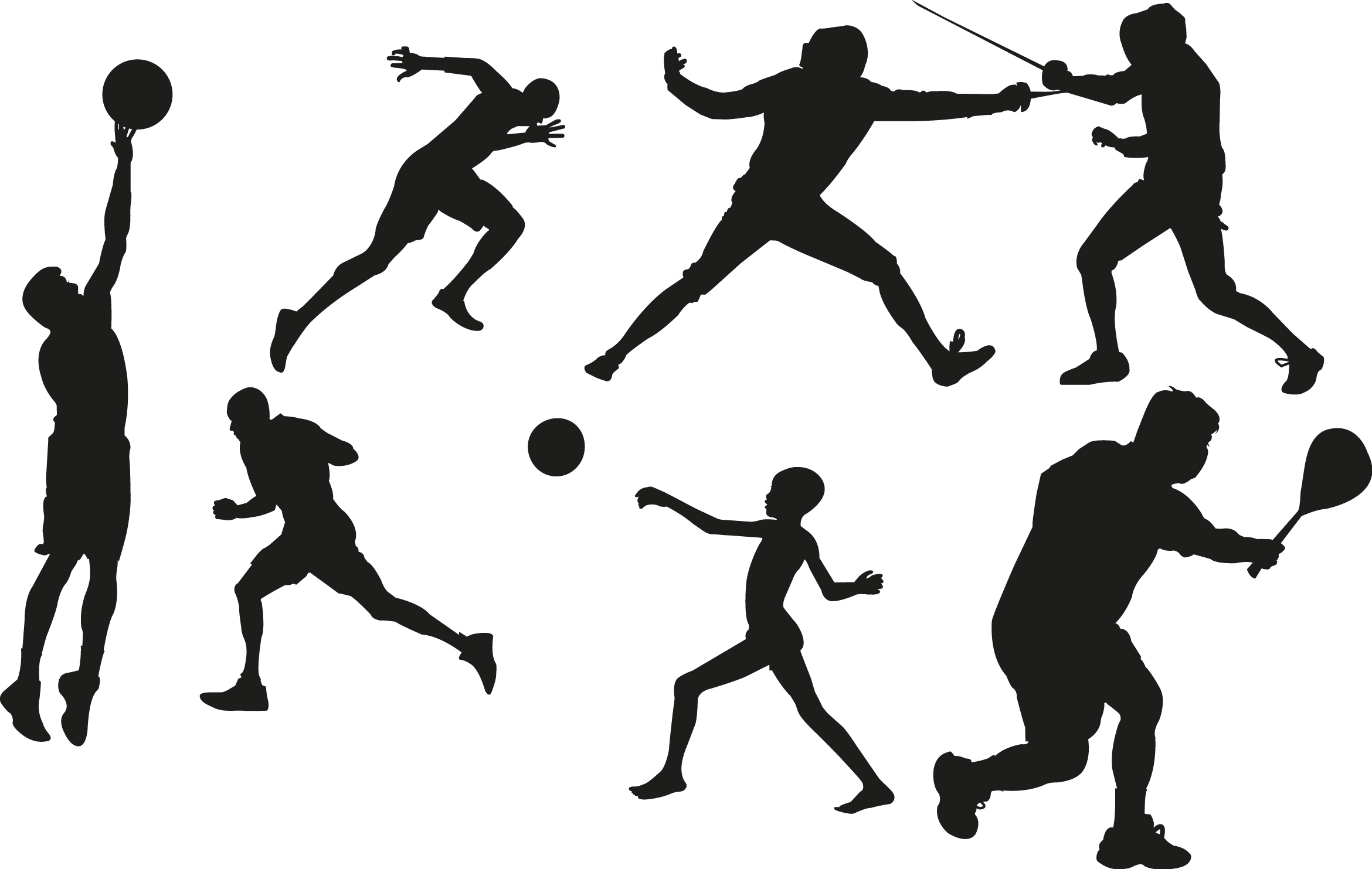 Can't find the perfect clip-art?: www.clipartbest.com/sport