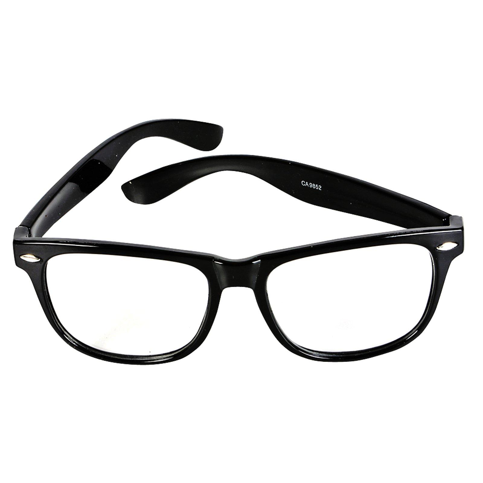 Glasses Frames Nerd Black : Nerds Glasses - ClipArt Best