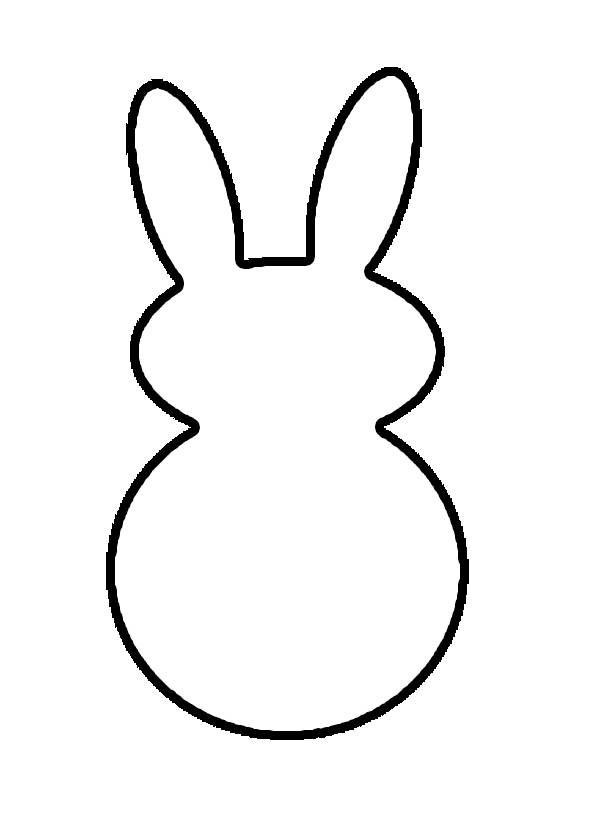 easter bunny head template - photo #25