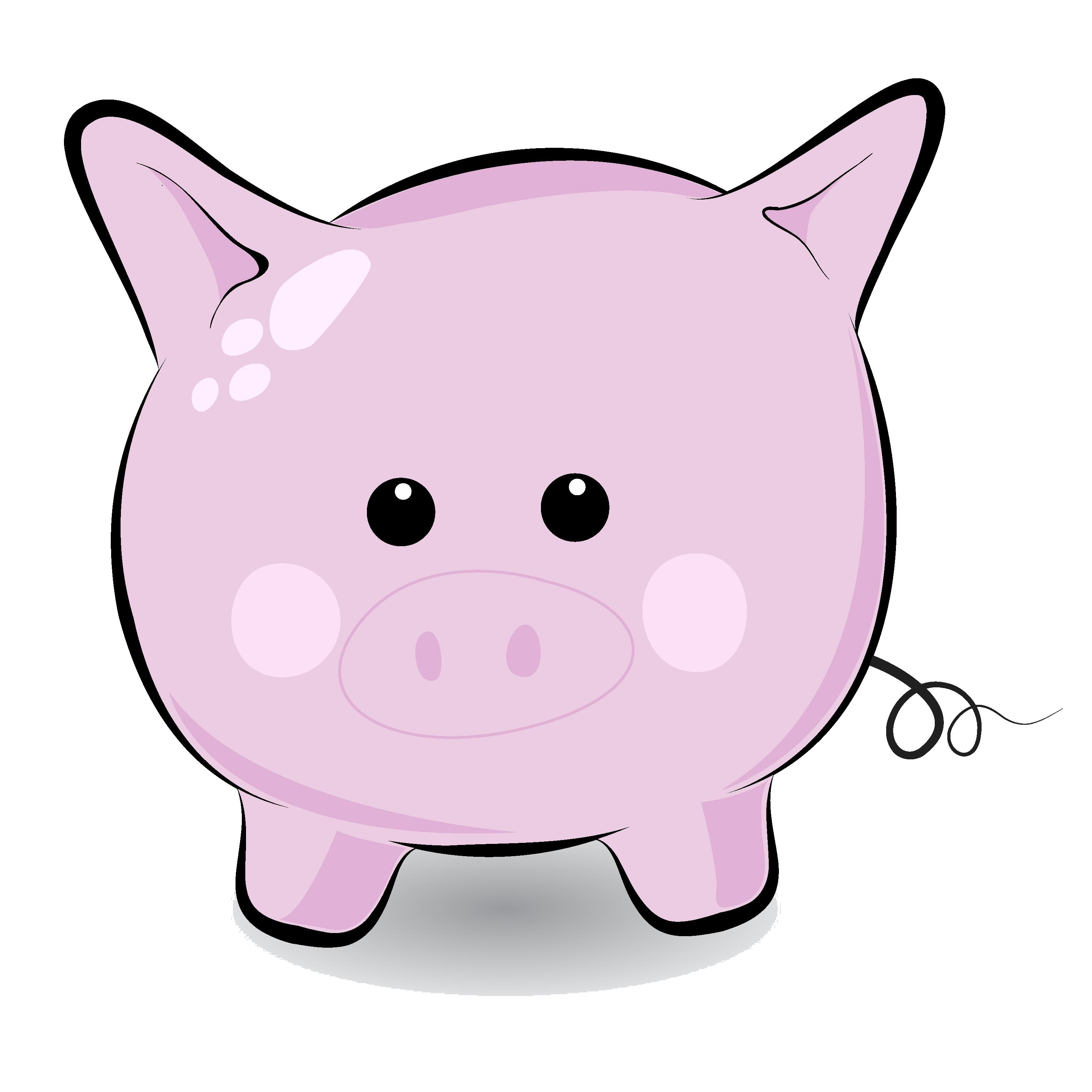clip art funny pigs - photo #17