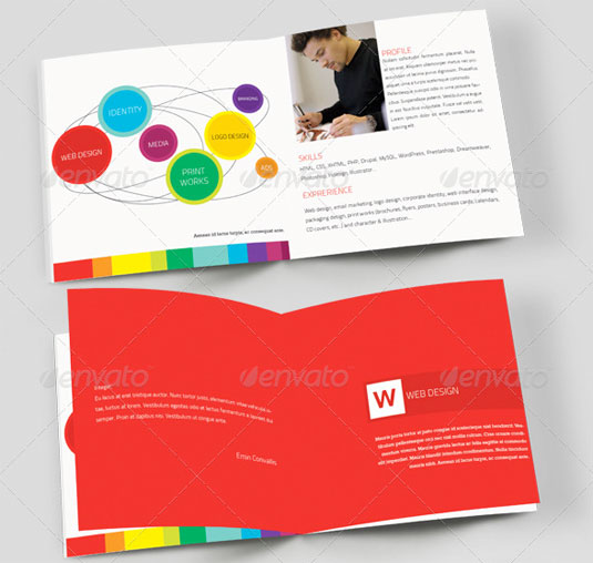 Brochure templates for kids clipart best for Booklet brochure template