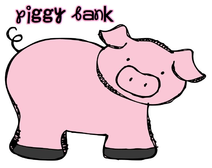 Clipart cute piggy bank - ClipArt Best - ClipArt Best