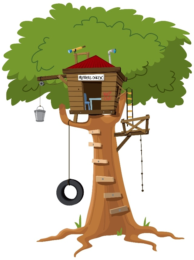 clipart pictures tree house - photo #11