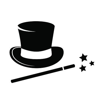 Clipart Magicians Hat - ClipArt Best
