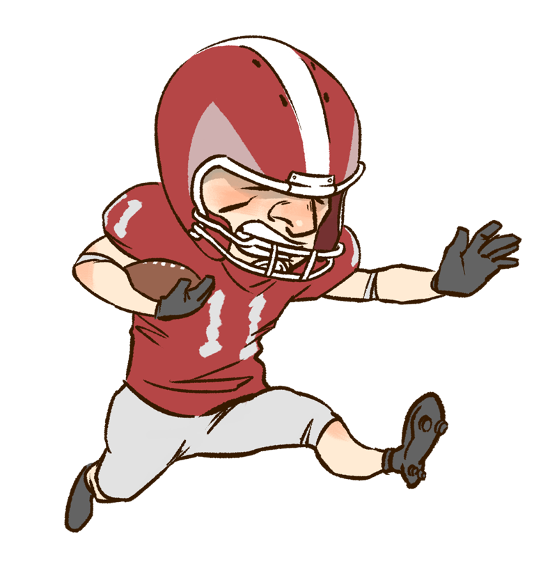 Funny Cartoon Football Pictures - ClipArt Best