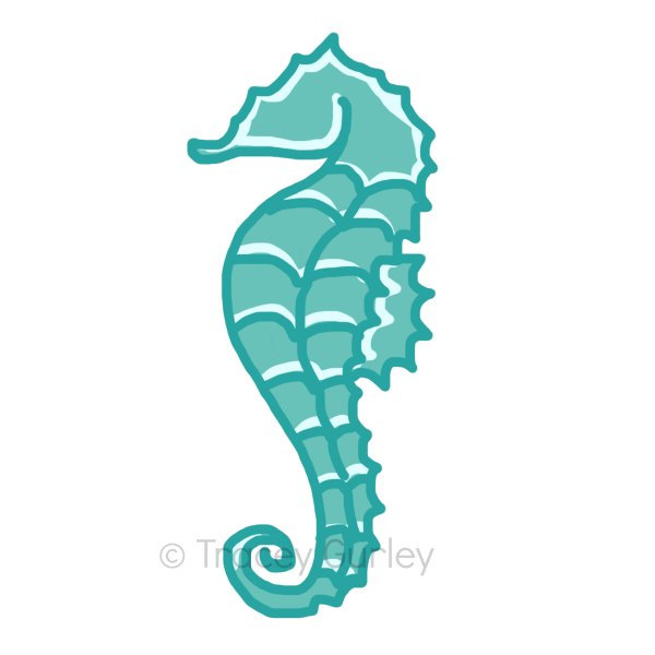 Seahorse Clip Art Free - Free Clipart Images