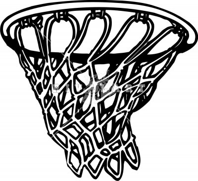 how to draw a basketball net sideways